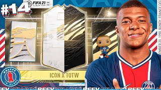 We Got an ICON Level INFORM! | FIFA 21 Mbappe To Glory #14