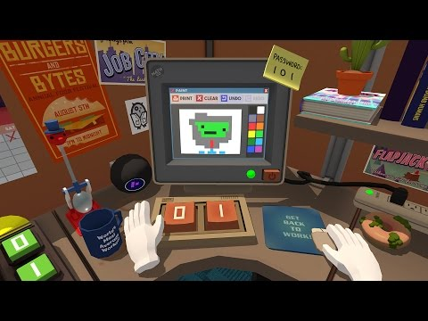 Job Simulator Gameplay - Office Worker - HTC Vive