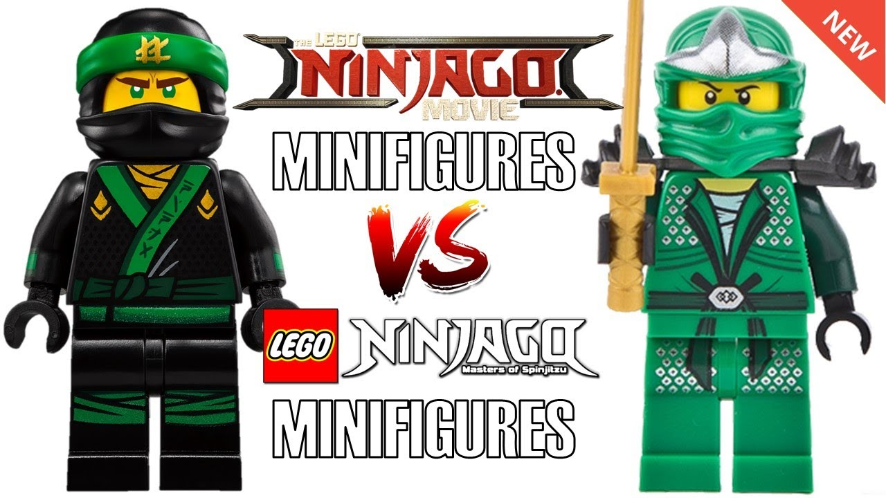 Lego ninjago movie minifigures vs original ninjago minifigures youtube - Ninjago vs ninjago ...