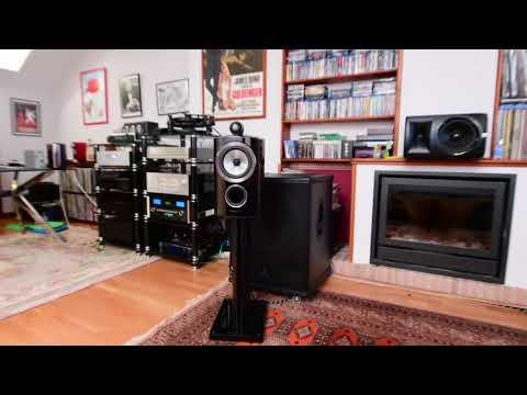 B&W 805D3, 18' Active Subwoofers, McIntosh C52, Yamaha AS3000