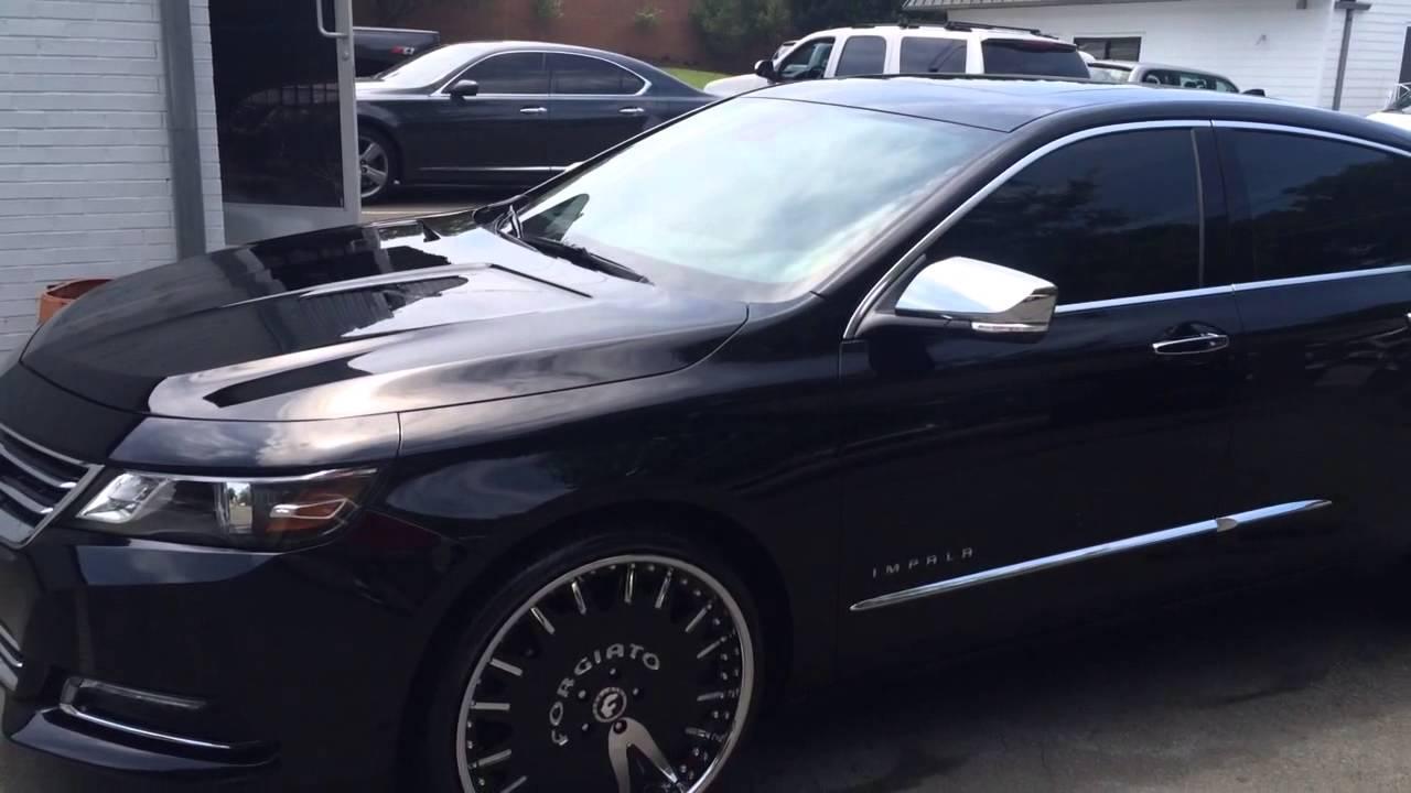 2014 Chevy Impala Ltz Forgiato Youtube