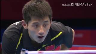 Table Tennis Olympic 2012 Zhang Jike vs Wang Hao highlights