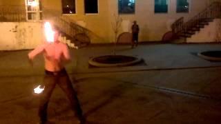 Поинг с огнем