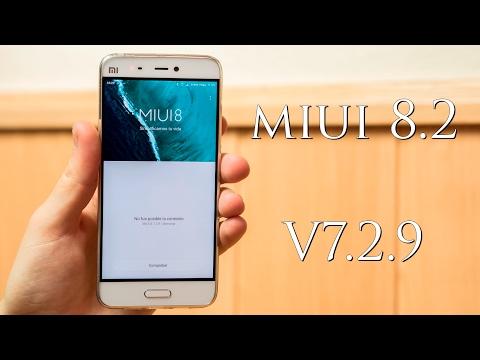 Beta V7.2.9, Miui V8.2, Novedades y experiencia