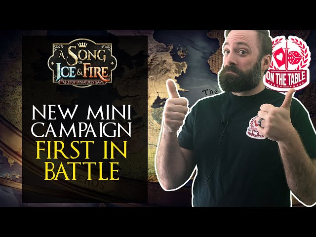 A Song of Ice and Fire Miniatures Game Mini-Campaign Released!