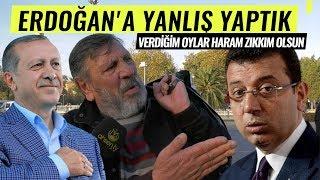 """İmamoğlu'na Oy Veren Karadenizli Adam Çıldırdı: """"ERDOĞAN'A YANLIŞ YAPTIK"""""""