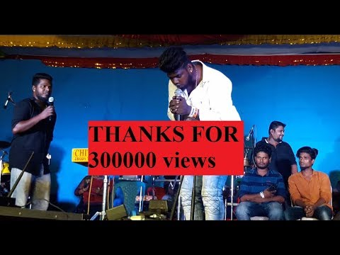 Mookuthi song stage performance by gana GUNA, BALACHANDAR | KAVANGARAI good boys gang