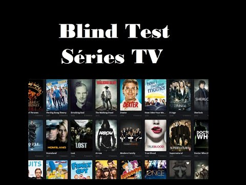 Blind Test Séries Tv (40 Extraits)