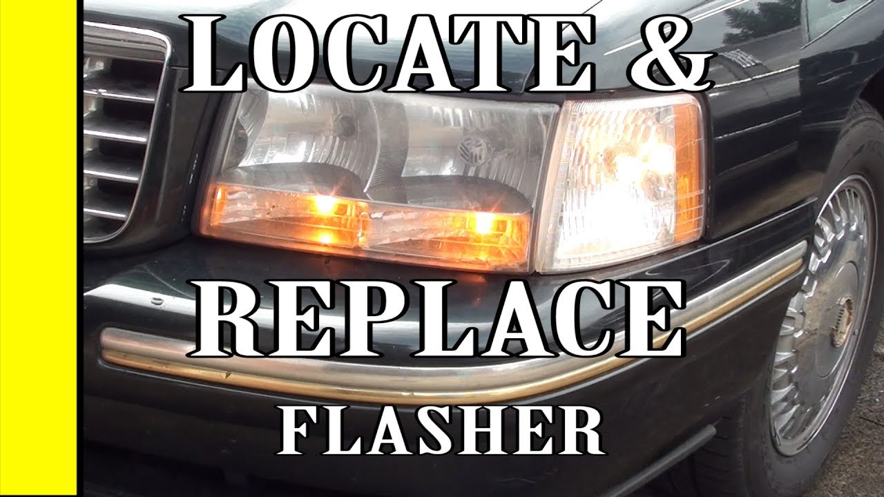 hight resolution of cadillac deville how to locate and replace your turn signal flasher relay 93 94 95 96 97 98 1999