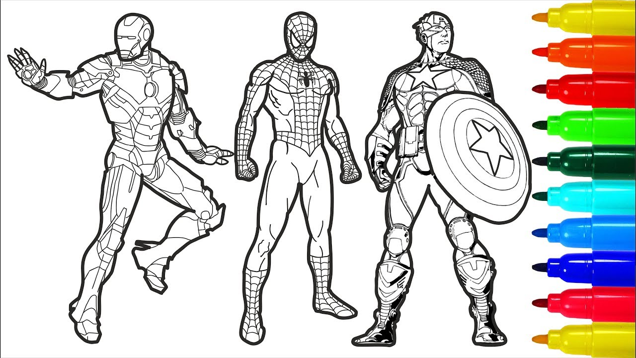 Captain America: The Winter Soldier Printable Coloring Page | Mama ... | 720x1280