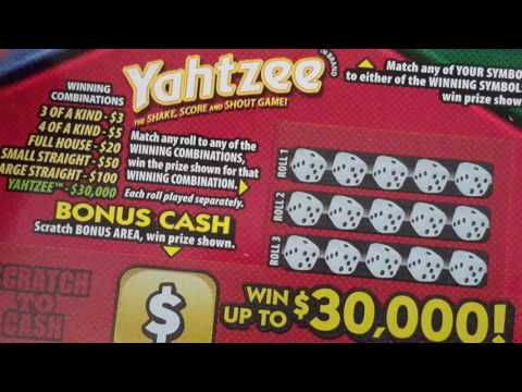 **Board Game Bonus **Fun Scratch Offs From The Indiana Lottery
