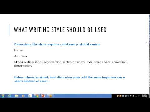 Boulder Universal--How to Write a Discussion