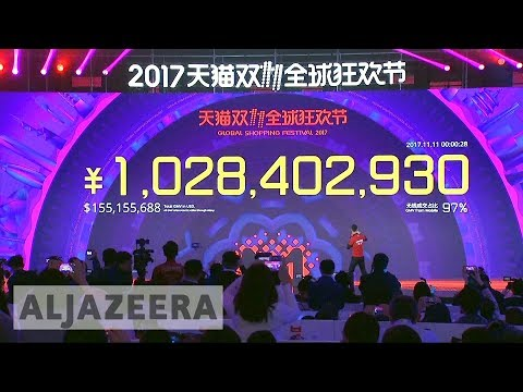 Singles Day Shopping Spree Smashes Record In China
