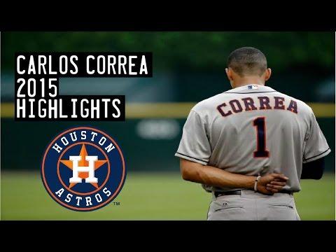 Carlos Correa | 2015 Astros Highlights HD