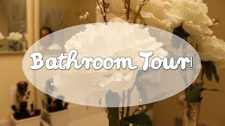Bathroom Tour + Bathroom Decoration Idea on a Budget! Thumbnail