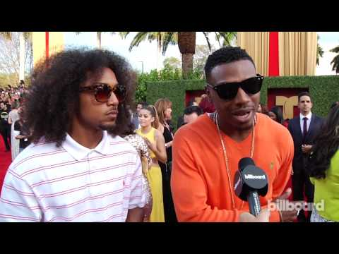 Los Rakas: 2014 Billboard Latin Music Awards Red Carpet