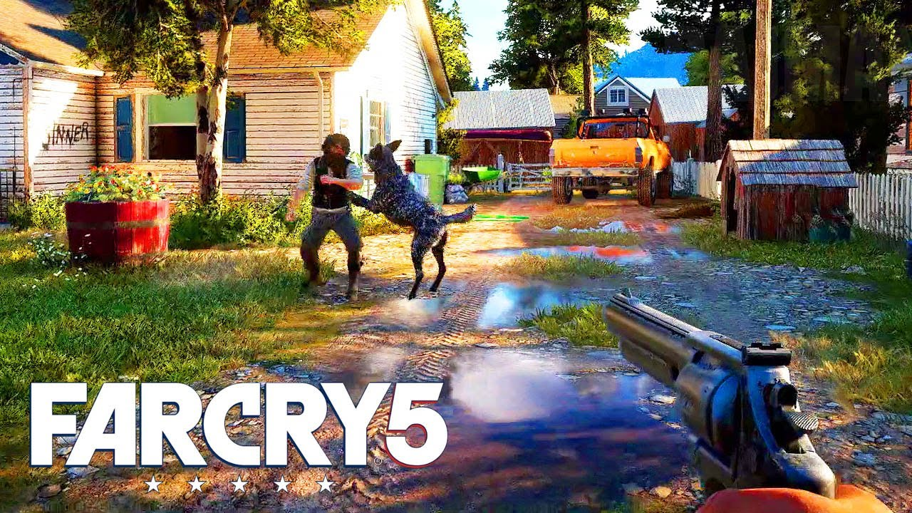 Far Cry 5 Gameplay Trailer E3 2017 1080p Hd Youtube