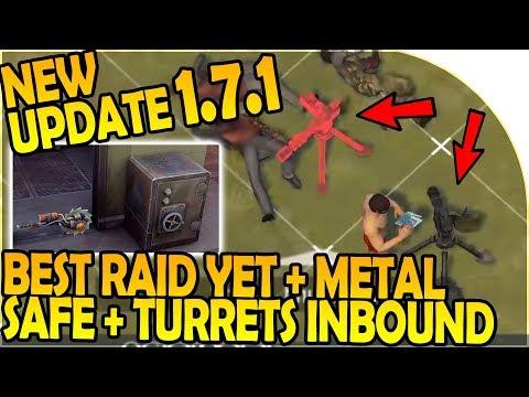 NEW UPDATE 1.7.1 - BEST RAID YET - NEW TURRET + SAFE INBOUND - Last Day On Earth Survival 1.7 Update