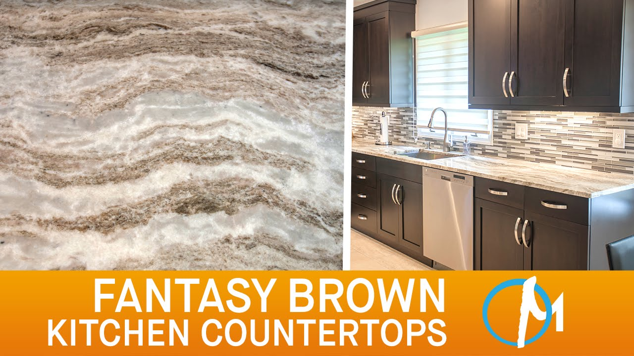 Fantasy Brown Kitchen Countertops Iii Marble Com Youtube