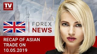 InstaForex tv news: 10.05. 2019: USD asserts strength ahead of news on trade talks (USDX, USD, JPY, AUD)
