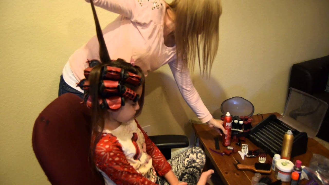Pageant Hair How To Rolling Your Hair In Hot Rollers