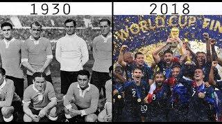FIFA WORLD CUP WINNERS  1930 - 2018