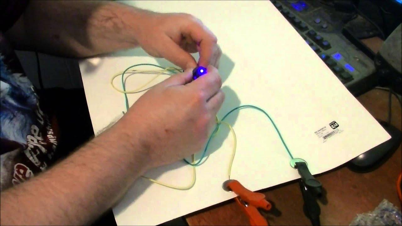 16a 12v round rocker toggle switch led spst [ 1280 x 720 Pixel ]