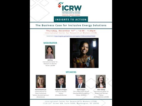 ICRW Insights to Action - The Business Case for Inclusive Energy Solutions