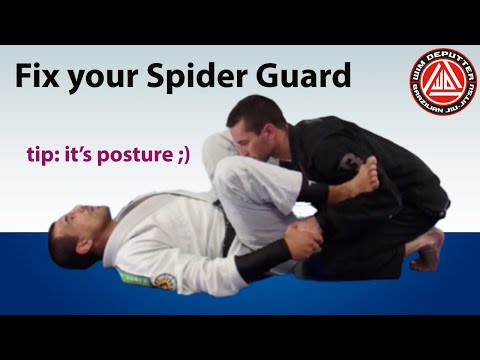 A quick tip for playing spider guard (that will make all the difference) #bjj #spiderguard