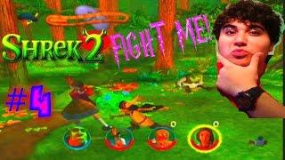 FIGHT ME PUSS IN BOOTS!!! Shrek 2 Episode #4 (Ogre Killer)