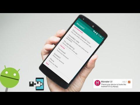 |Módulo| Apariencia Lollipop en cualquier Android 4.0+