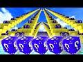 Minecraft BLUE LUCKY BLOCK STAIRCASE 1v1 w/Vikkstar (Minecraft Lucky Block Mod)