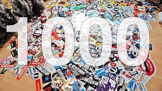 WHAT TO DO WITH 1000 SKATE STICKERS?!
