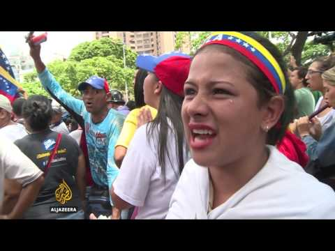 Protests intensify against Venezuelan President Maduro