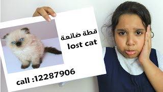 शफ़ा और उसकी मम्मा ने अपने बिल्ली का बच्चा खो दिया।
