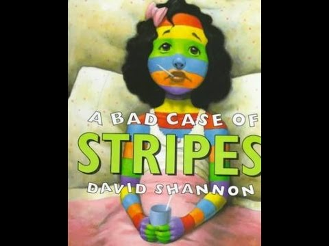 a bad case Listen to sean astin read a bad case of stripes by david shannon camilla  cream loves lima beans, but she never eats them why because the other kids  at.