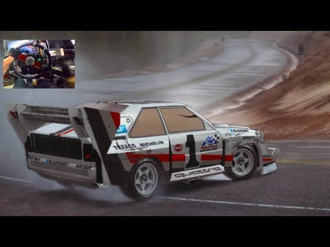 HARDEST Rally Game EVER?? - Dirt Rally GoPro VS Pikes Peak! | SLAPTrain |
