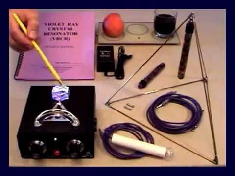 Violet Ray Crystal Resonator KIT