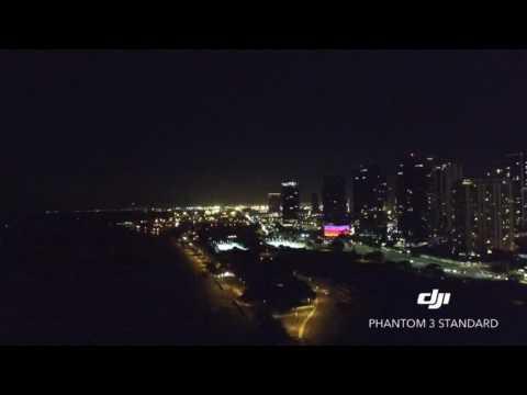 Hawaii, Oahu (Ala Moana Skyline At Night)