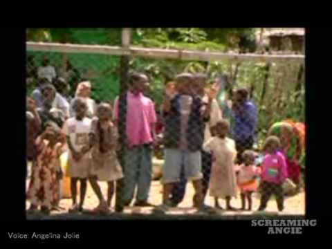 "Angelina Jolie "" What's Going On? Child Refugees In Tanzania "" Part1"