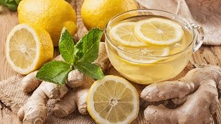 Immune Booster: 2 Minute Lemon Ginger Tea