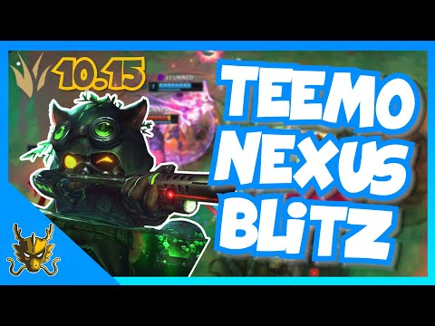 PENTAKILL! | Omega Squad Teemo Jungle S10 Patch 10.15 | Nexus Blitz