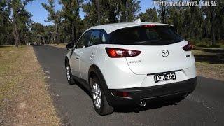 2015 Mazda CX 3 1.5 diesel 0-100km/h & engine sound