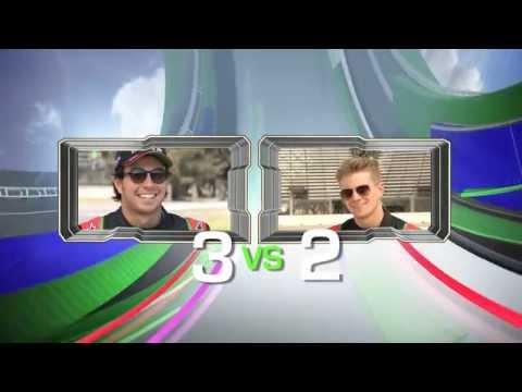 ¿Qué tanto se conocen Sergio Perez y Nico Hulkemberg?