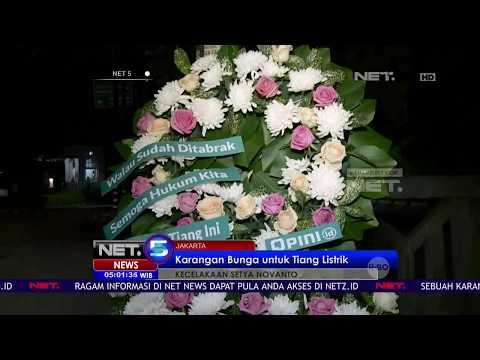 Karangan Bunga Untuk Tiang Listrik - NET5