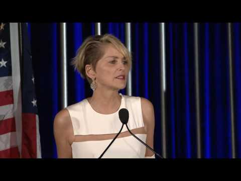 2016 NABEF Service to America Leadership Award   Sharon Stone