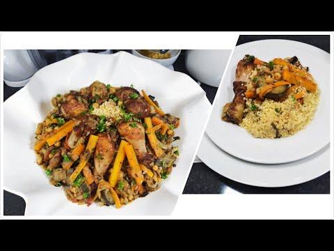 couscous-algÉrien-au-poulet---recette-facile-et-rapide