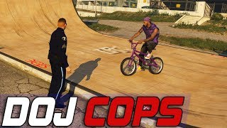 Dept. of Justice Cops #699 - Community Policing