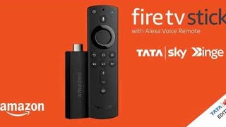 TATA Sky Binge Special Amazon Fire TV Stick review | Unboxing and Setup[2021]
