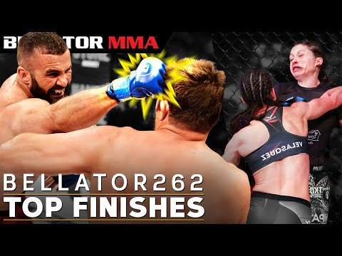 TOP Fight Finishes feat. Bellator 262 Fighters   Bellator MMA